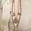 Thumbnail: Copper Sun, Moon, & Stars Double Necklace