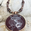 Thumbnail: Tawny Port Luckenbooth Necklace