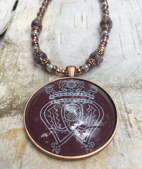 Tawny Port Luckenbooth Necklace