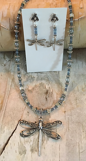 Blue Dragonfly Set