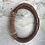 Thumbnail: Leather Acoustic Guitar String Bracelet Brown