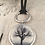 Thumbnail: Silver Raven Tree Deerskin Lace Necklace