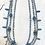 Thumbnail: 3 Strand Montana Blue Antique Gold Dragonfly Necklace Set