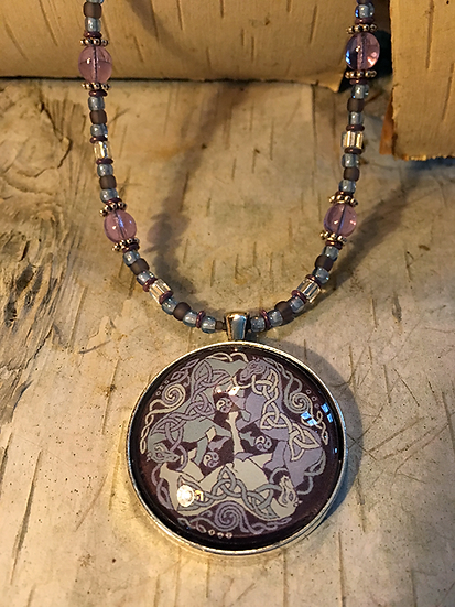 Alexandrite Dream Horse Necklace