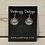 Thumbnail: Silver Celtic Dragonfly Earrings