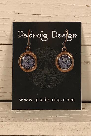Copper Crest Dream Horses Earrings
