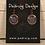 Thumbnail: Copper Crest Dream Horses Earrings