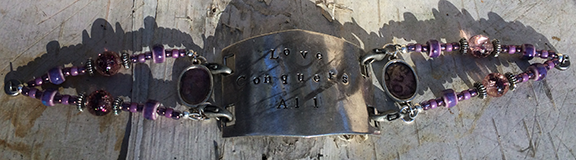 Antique Stamp Bracelet