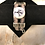 Thumbnail: Silver Raven Tree 2 Strap Leather Bracelet