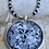 Thumbnail: Black and White Dream Horse Necklace