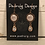 Thumbnail: Copper Sun, Moon, & Stars Earrings with Crystal Drop