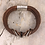 Thumbnail: Brown Leather Guitar String Bracelet