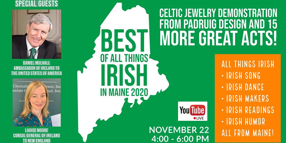 Best Of All Things Irish In Maine 2020