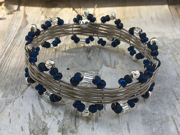Blues In The House Bangle