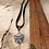 Thumbnail: Arbor Vitae Deerskin Lace Necklace