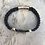 Thumbnail: Indigo Leather Electric Guitar String Bracelet