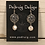 Thumbnail: Silver Troyes Star Earrings