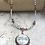 Thumbnail: Grey Copper Dragonfly Necklace