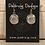 Thumbnail: Silver Crest Sun, Moon, & Stars Earrings
