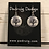 Thumbnail: Silver Raven Tree Earrings