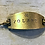 Thumbnail: Volare Hand Stamped Brass Bracelet