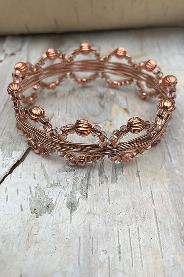 Acoustic Guitar String Bangle Copper