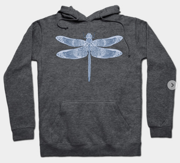 Celtic Dragonfly Hoodie