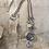 Thumbnail: Silver Birch Disc Necklace