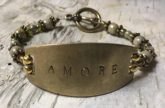 Amore Guitar String Bracelet