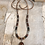 Thumbnail: Red Creek Jasper and Gold Stone Necklace