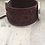 Thumbnail: Silver Sun, Moon, & Stars Tooled Burgundy Leather Bracelet