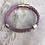Thumbnail: Recycled Electric Guitar String Bracelet Berry