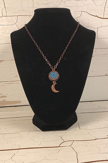 Copper Mini Troyes Star Necklace
