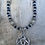 Thumbnail: Trinity Heart Cobalt Blue Necklace
