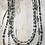 Thumbnail: Four Strand Black Diamond Dragonfly Necklace