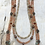 Thumbnail: Four Strand Copper Dragonfly Necklace