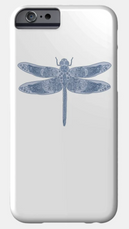 Celtic Dragonfly Cell Phone Cover