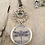 Thumbnail: Silver Celtic Dragonfly Necklace