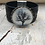 Thumbnail: Raven Tree Tooled Navy Leather Bracelet