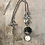 Thumbnail: Silver Moose Maple Disc Necklace