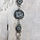 Thumbnail: Antique Silver Troyes Star Link Bracelet