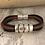 Thumbnail: Inlay Acoustic Guitar String Bracelet Brown Black