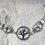 Thumbnail: Antique Silver Raven Tree Link Bracelet