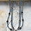 Thumbnail: 3 Strand Silver Dream Horse Necklace
