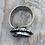 Thumbnail: Black Tri Fitheach Ring