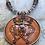 Thumbnail: Autumn Maple Luckenbooth Necklace