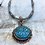 Thumbnail: Antique Copper Troyes Star Necklace Set