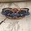 Thumbnail: Copper 3 Circle Guitar String Bracelet