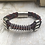 Thumbnail: Leather Multi Electric Guitar String Bracelet