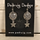 Thumbnail: Silver Troyes Star Earrings with Star Drops
